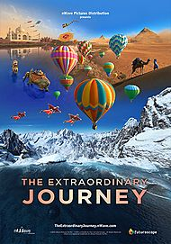 """Movie poster for """"THE EXTRAORDINARY JOURNEY"""""""