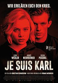 "Filmplakat für ""JE SUIS KARL"""