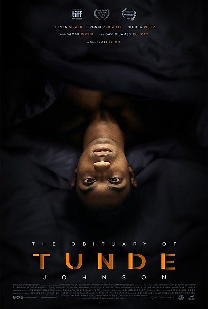 "Movie poster for ""THE OBITUARY OF TUNDE JOHNSON"""
