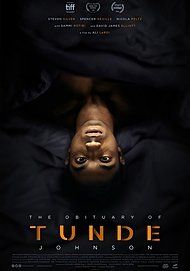 """Movie poster for """"THE OBITUARY OF TUNDE JOHNSON"""""""