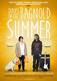 "Movie poster for ""DAYS OF THE BAGNOLD SUMMER"""