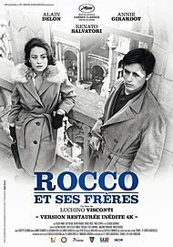 "Movie poster for ""ROCCO ET SES FRERES"""