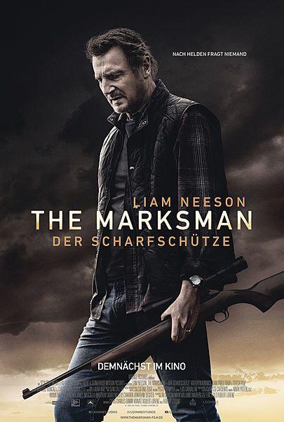 """Filmplakat für """"THE MARKSMAN - DER SCHARFSCHÜTZE"""""""