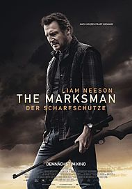 "Movie poster for ""THE MARKSMAN"""