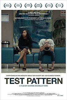 "Movie poster for ""TEST PATTERN"""