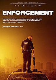 "Movie poster for ""ENFORCEMENT"""