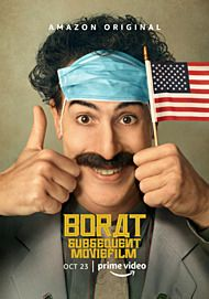 "Movie poster for ""BORAT SUBSEQUENT MOVIEFILM"""