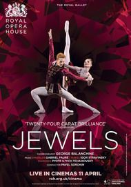 "Movie poster for ""JEWELS - The Royal Ballet"""
