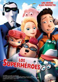 """Póster para """"Los Superhéroes"""""""