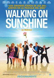 """Póster para """"Walking on sunshine"""""""