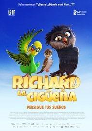 """Póster para """"Richard, la cigüeña"""""""