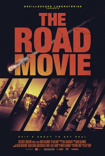 "Movie poster for ""THE ROAD MOVIE"""