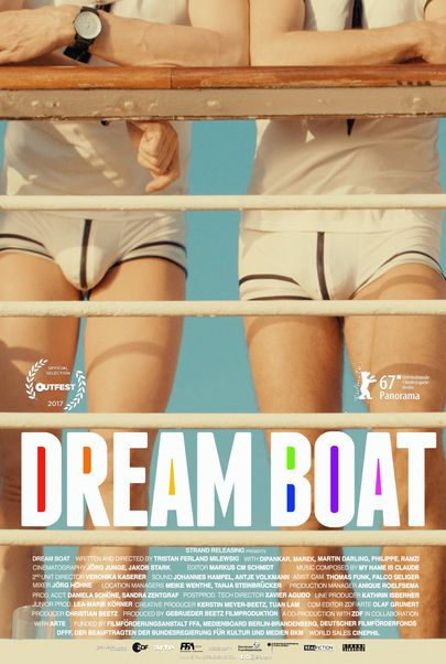 "Movie poster for ""DREAM BOAT"""