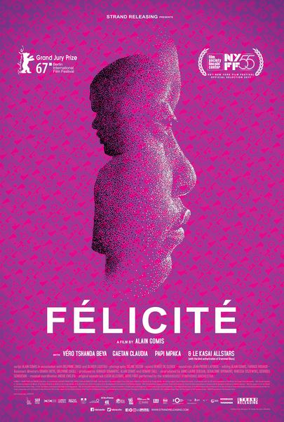 """Movie poster for """"FELICITE"""""""