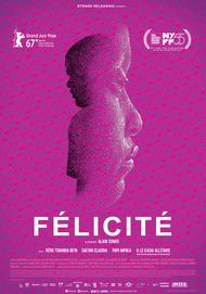 "Movie poster for ""FELICITE"""