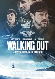 "Movie poster for ""WALKING OUT"""