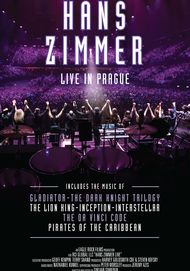 "Movie poster for ""HANS ZIMMER LIVE IN PRAGUE"""