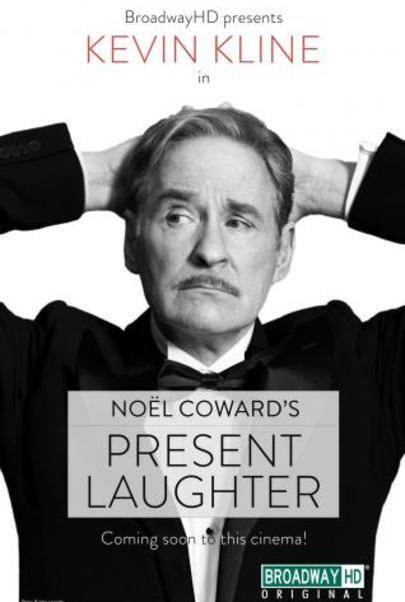 """Movie poster for """"PRESENT LAUGHTER (BroadwayHD)"""""""