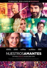 """Movie poster for """"Nuestros amantes"""""""