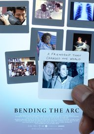 "Movie poster for ""BENDING THE ARC"""