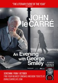 "Movie poster for ""JOHN LE CARRE - AN EVENING WITH GEORGE SMILEY"""