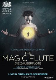"Movie poster for ""THE MAGIC FLUTE - Royal Opera House"""