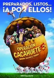 """Póster para """"Operación Cacahuete 2. Misión: Salvar el parque"""""""