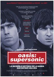 "Póster para ""Oasis: Supersonic"""