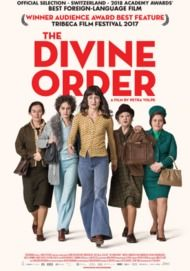 "Movie poster for ""THE DIVINE ORDER"""