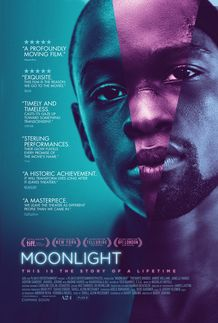 "Movie poster for ""MOONLIGHT"""