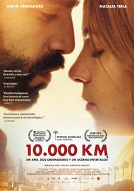 """Movie poster for """"10.000 Km"""""""