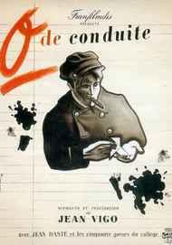 """Movie poster for """"ZERO DE CONDUITE : JEUNES DIABLES AU COLLEGE"""""""