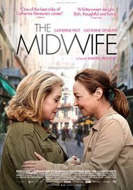 "Movie poster for ""THE MIDWIFE"""
