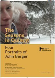 "Movie poster for ""THE SEASONS IN QUINCY: FOUR PORTRAITS OF JOHN BERGER"""