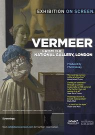 "Movie poster for ""VERMEER AND MUSIC: THE ART OF LOVE AND LEISURE"""