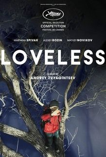 """Movie poster for """"LOVELESS"""""""