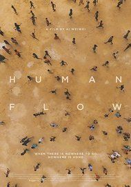 "Movie poster for ""HUMAN FLOW"""