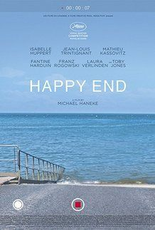 """Movie poster for """"HAPPY END"""""""