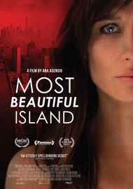 "Movie poster for ""MOST BEAUTIFUL ISLAND"""
