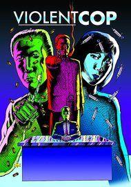 """Movie poster for """"VIOLENT COP"""""""