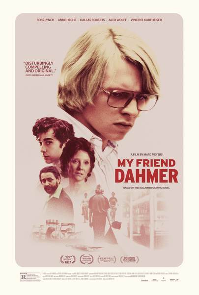 "Movie poster for ""MY FRIEND DAHMER"""