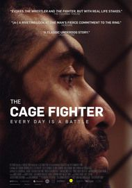 "Movie poster for ""THE CAGE FIGHTER"""