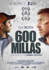 """Movie poster for """"600 millas"""""""