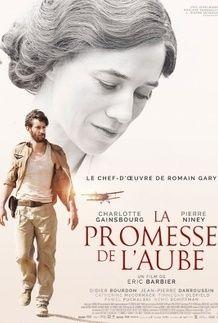 """Movie poster for """"LA PROMESSE DE L'AUBE"""""""