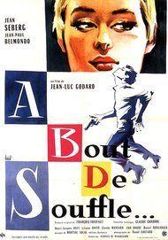 "Movie poster for ""Breathless"""