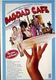 """Movie poster for """"BAGDAD CAFE"""""""