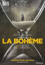 "Movie poster for ""LA BOHEME - Royal Opera House"""