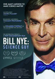 "Movie poster for ""BILL NYE: SCIENCE GUY"""