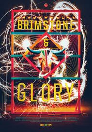 "Movie poster for ""BRIMSTONE AND GLORY"""