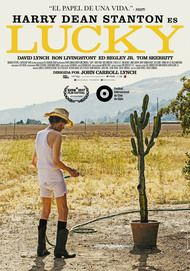 "Movie poster for ""LUCKY"""
